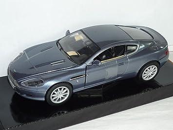 Motormax Aston Martin Db9 Db 9 Coupe Grau Blau Basis Für Dbs James Bond 007 Dienstwagen 1 24 Modellauto Modell Auto Amazon De Spielzeug