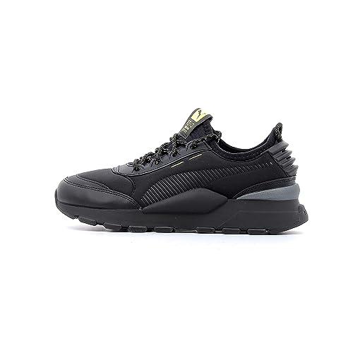 Puma - Zapatillas de Deporte de Lona Mujer, Negro (Negro), 36 EU: Amazon.es: Zapatos y complementos