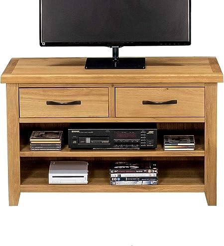 Ramore - Mueble de Soporte para DVD, de Roble, para televisor pequeño, de Plasma, montado, montado: Amazon.es: Hogar