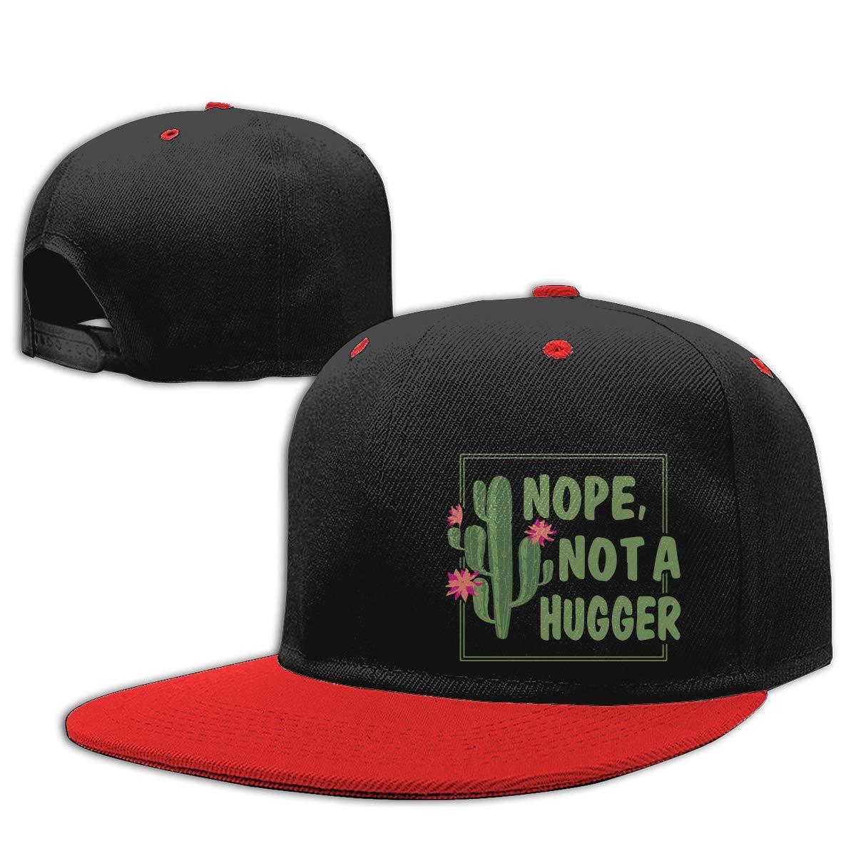 Men Womens Trucker Cap Nope Not A Hugger Adjustable Hip-Hop Baseball Caps