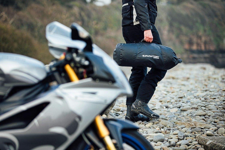 Supafactory 40L Impermeabile //Borsa a cilindro per Moto e Motociclette