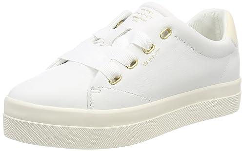 Gant Mary, Zapatillas Para Mujer, Blanco (Bright White), 41 EU