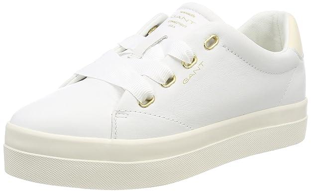 GANT Mary, Zapatillas para Mujer, Blanco (Bright White), 36 EU
