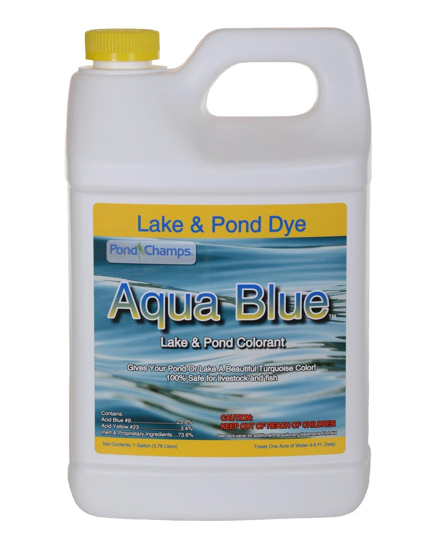 Aqua Blue Lake & Pond Dye - 1 Gallon