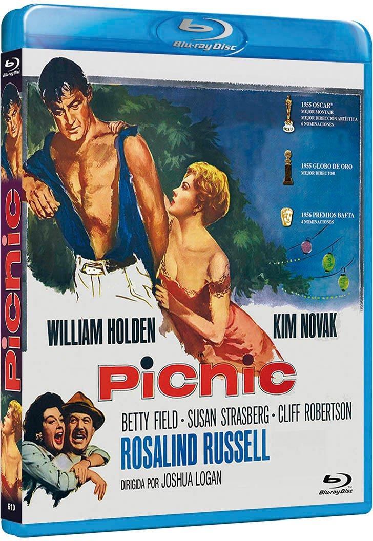 Picnic [Blu-ray] (1955): Amazon.es: William Holden, Kim Novak, Betty ...