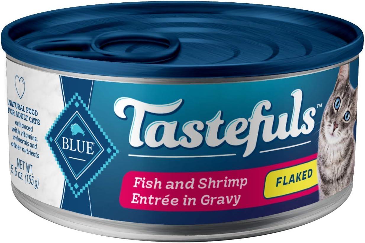 Blue Buffalo Tastefuls Natural Flaked Wet Cat Food