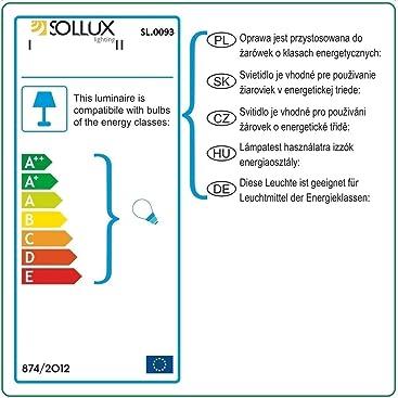 Sollux En Lighting Bague Acier 3 Éclairages Noir 8nymO0vNwP