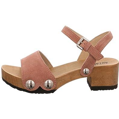 Softclox Damen Sandaletten Penny 3378 Oliv 408887 qPH8kXlRj6
