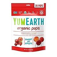YumEarth Organic Lollipops 20 Lollipops 4.2oz Deals