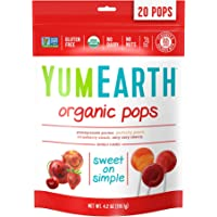YumEarth Organic Lollipops 4.2 Ounce