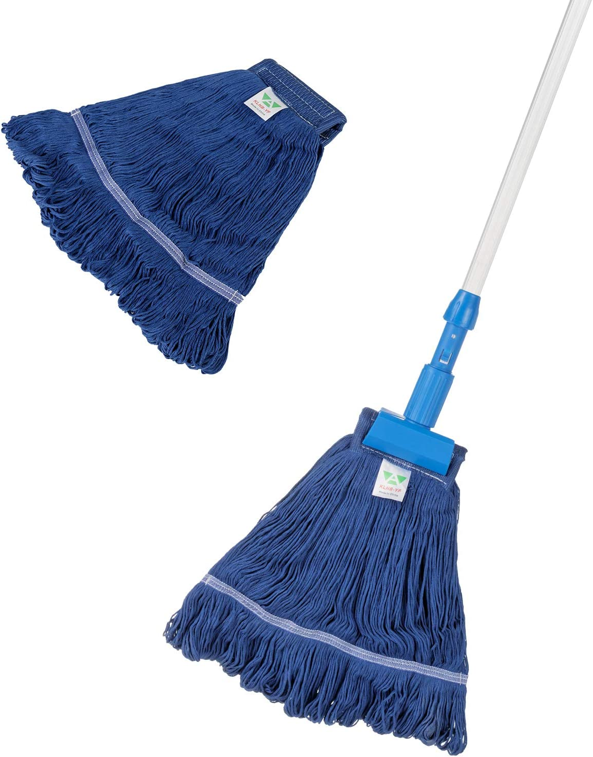 KLHB-YF blue wet Our shop Max 58% OFF most popular mop polyester-cotton yarn 51-inch a t with