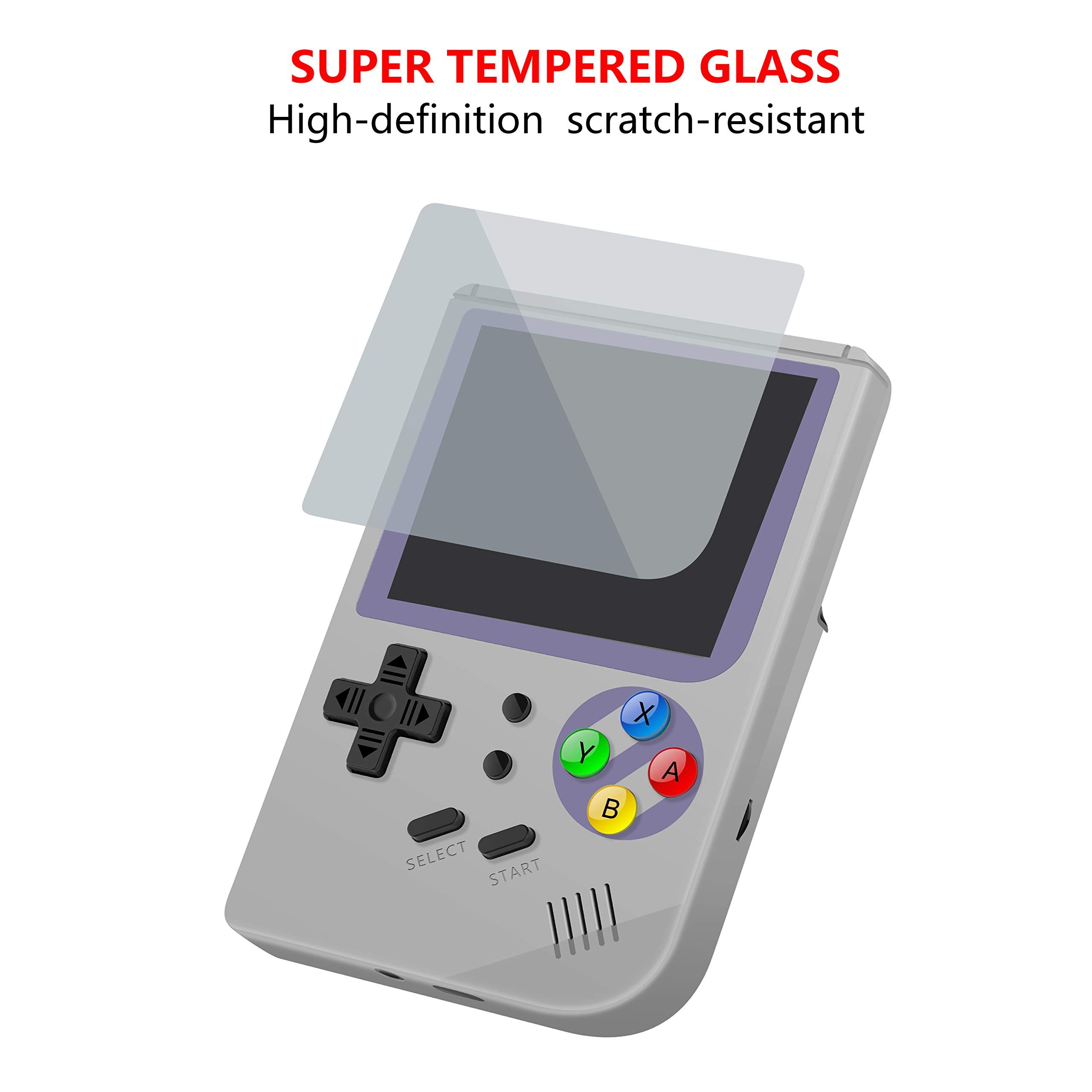 MJKJ Handheld Game Console ,RG300 Retro Game Console OpenDingux Tony System , Free with 32G TF Card Built-in 3007 Classic Game Console 3 Inch HD Screen Portable Video Game Console - Gray by MJKJ (Image #3)