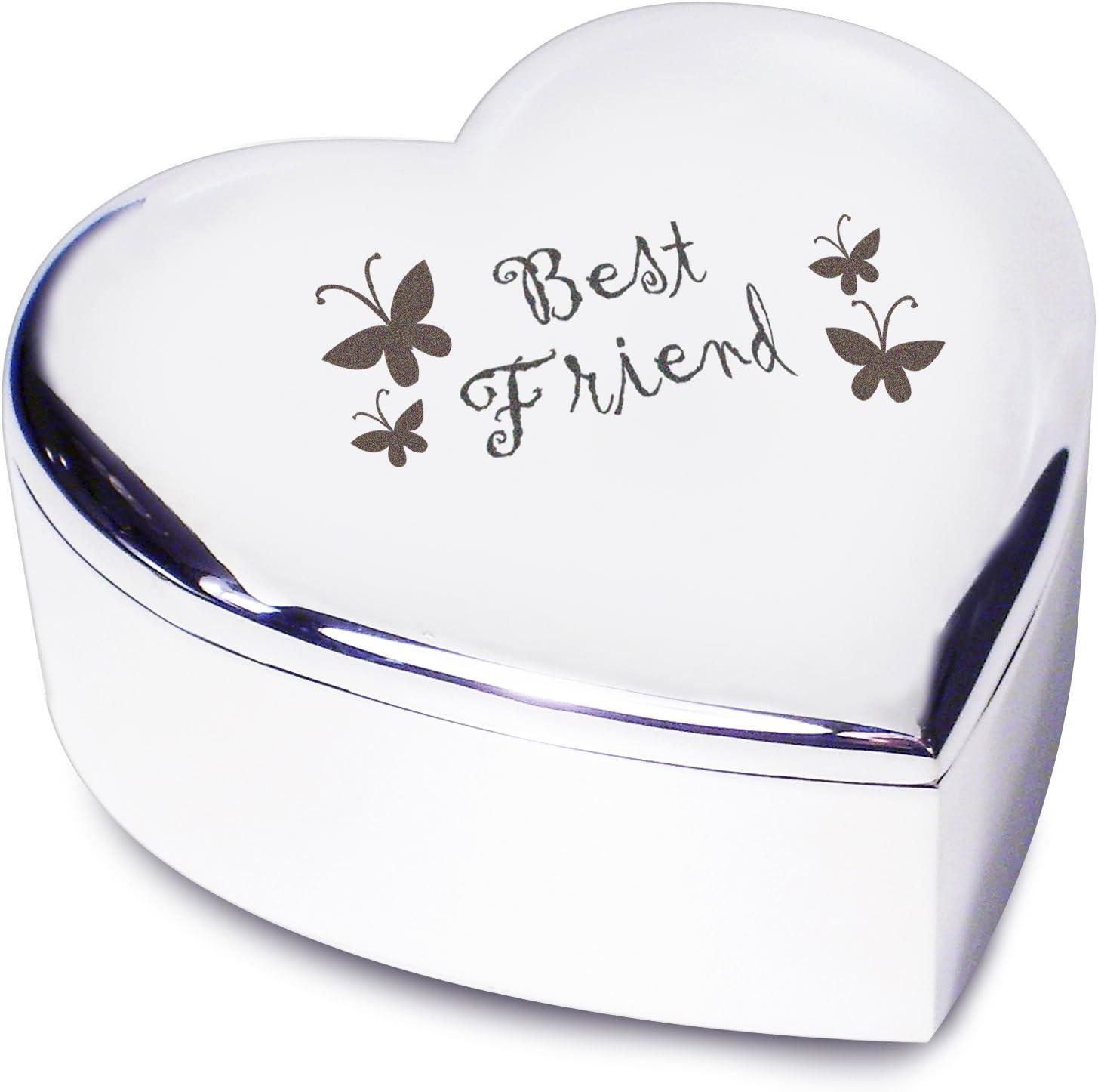 Best Friend Heart Trinket Amazon Co Uk Kitchen Home