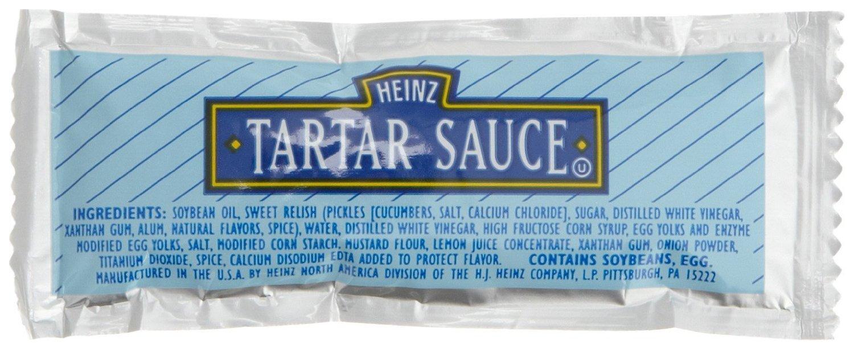 Heinz Tartar Sauce, Single Serve, 12 g. pack, Pack of 200