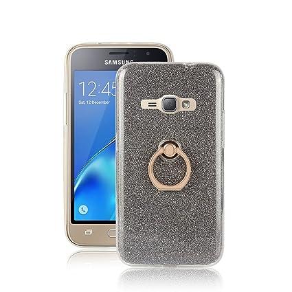 Amazon.com: Samsung Galaxy J1 (2016) Caso, nicelin Glitter ...