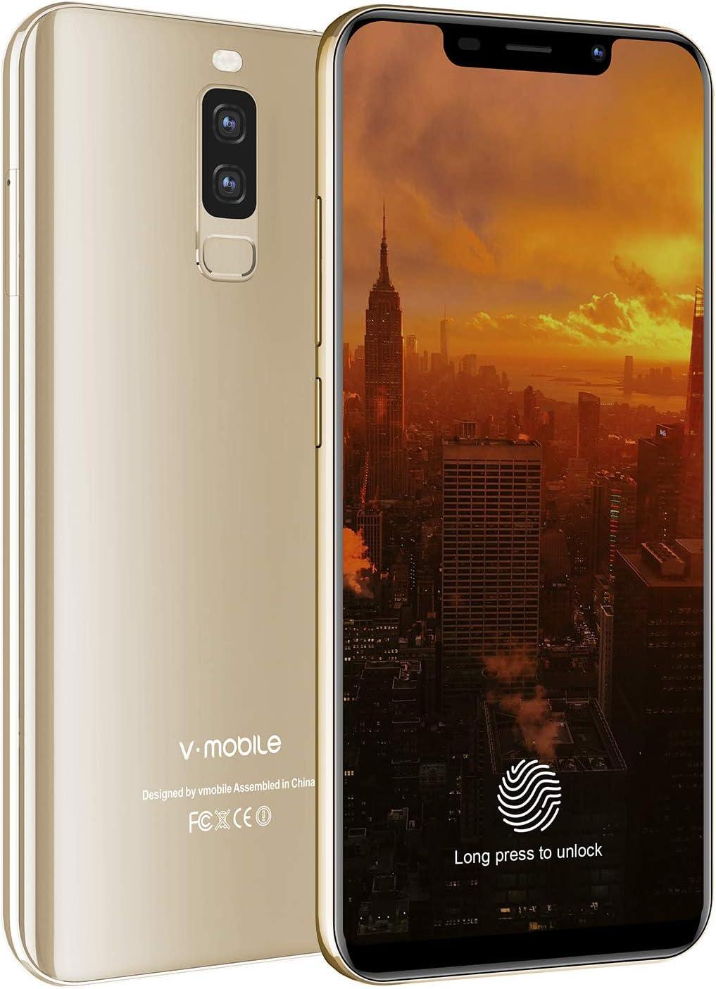 Smartphone Libre 4G, 6,3 Pulgadas 20: 9 RAM de 4 GB y 64 GB ROM ...