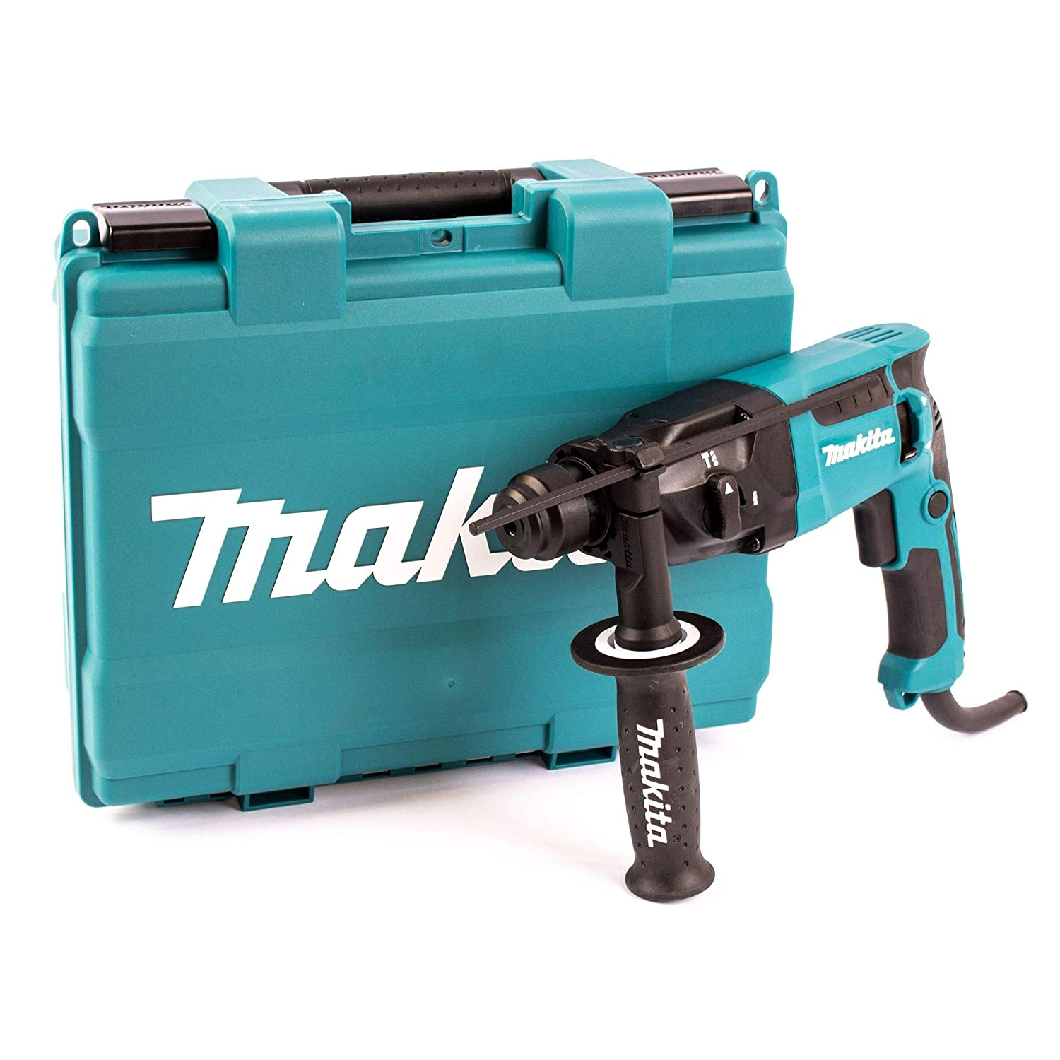 Makita HR1840/2 SDS Plus Rotary Hammer, 470 W, 240 V, Blue, 18 mm Makita UK