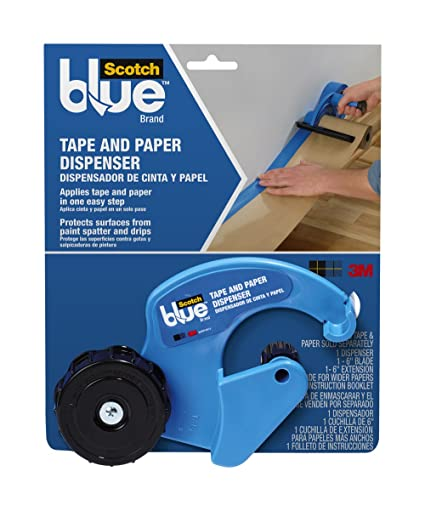 ScotchBlue Heavy Duty Non-Slip Drop, 3 x 32-Feet