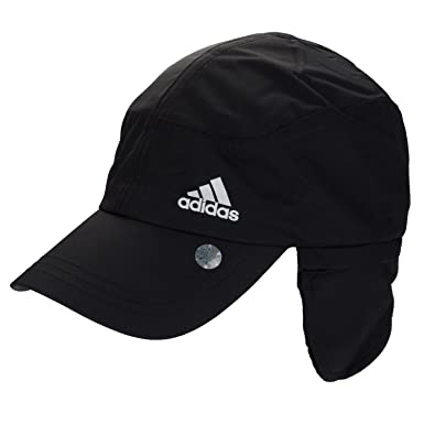 a40a447a08b adidas Climaproof Convertible Winter Running Hat in Black - One Size  adidas   Amazon.co.uk  Clothing