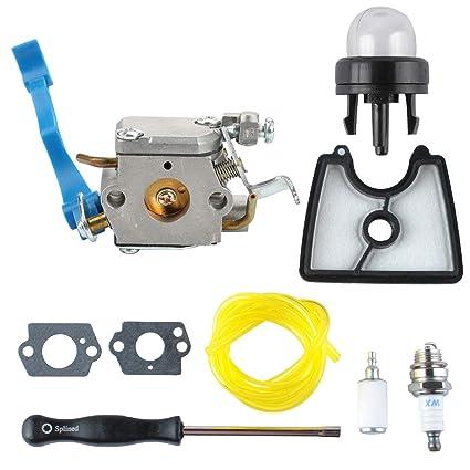Amazon.com: Podoy 545081811 Carburetor 545112101 - Filtro de ...