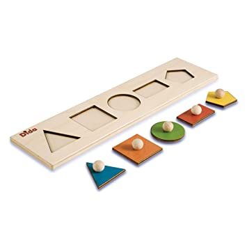 Wooden Puzzles For Children Shape Sorter Sequence Puzzle By Dida