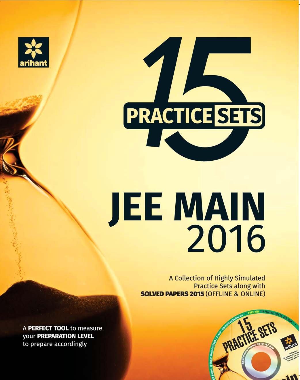 Download Final Lap - JEE Main 2016 - 15 Practice Sets (PhysicsChemistryMathematics) ebook
