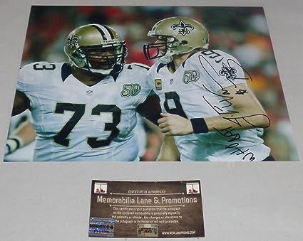 4e7f94a49 Jahri Evans Autograph 8X10 photo SAINTS COA Memorabilia Lane   Promotions
