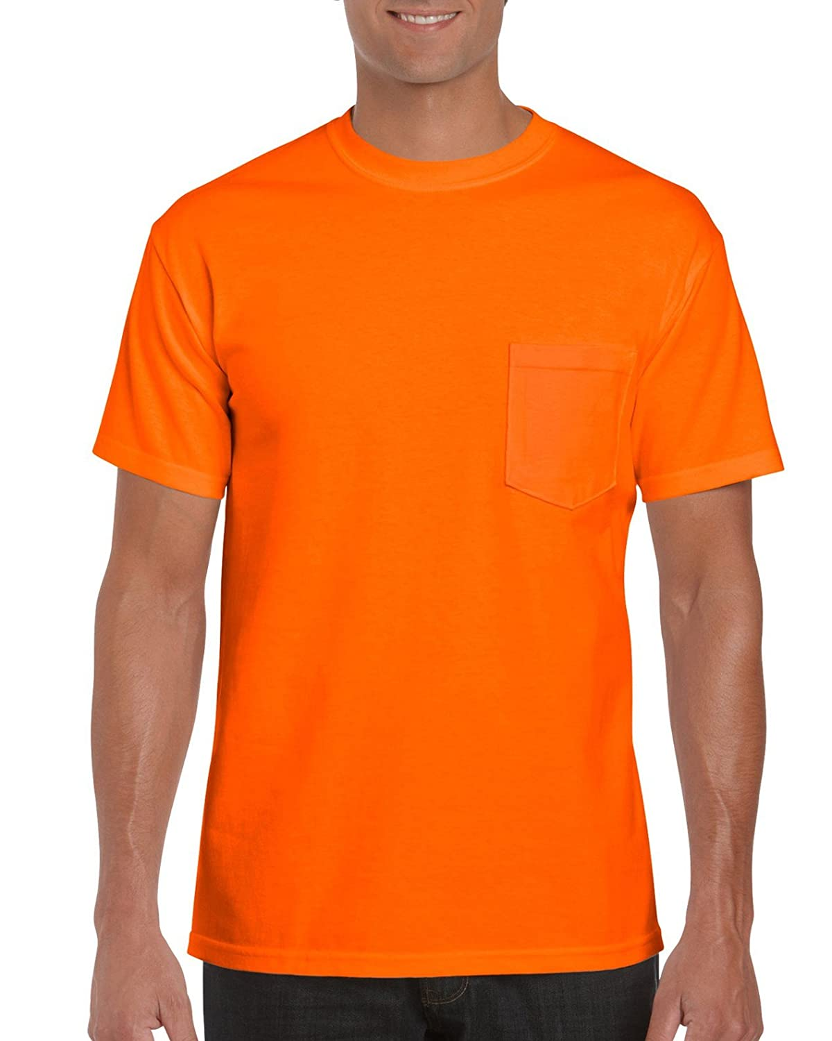 fe80f2a8 GILDAN Men's 2-Pack Workwear Pocket T-Shirt: Amazon.ca: Clothing &  Accessories