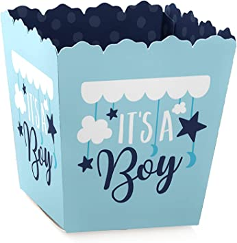 Personalized Baby Shower Treat Candy Box Party Mini Favor Boxes Party Supplies Robots Set of 12 Birthday Party Favor Box