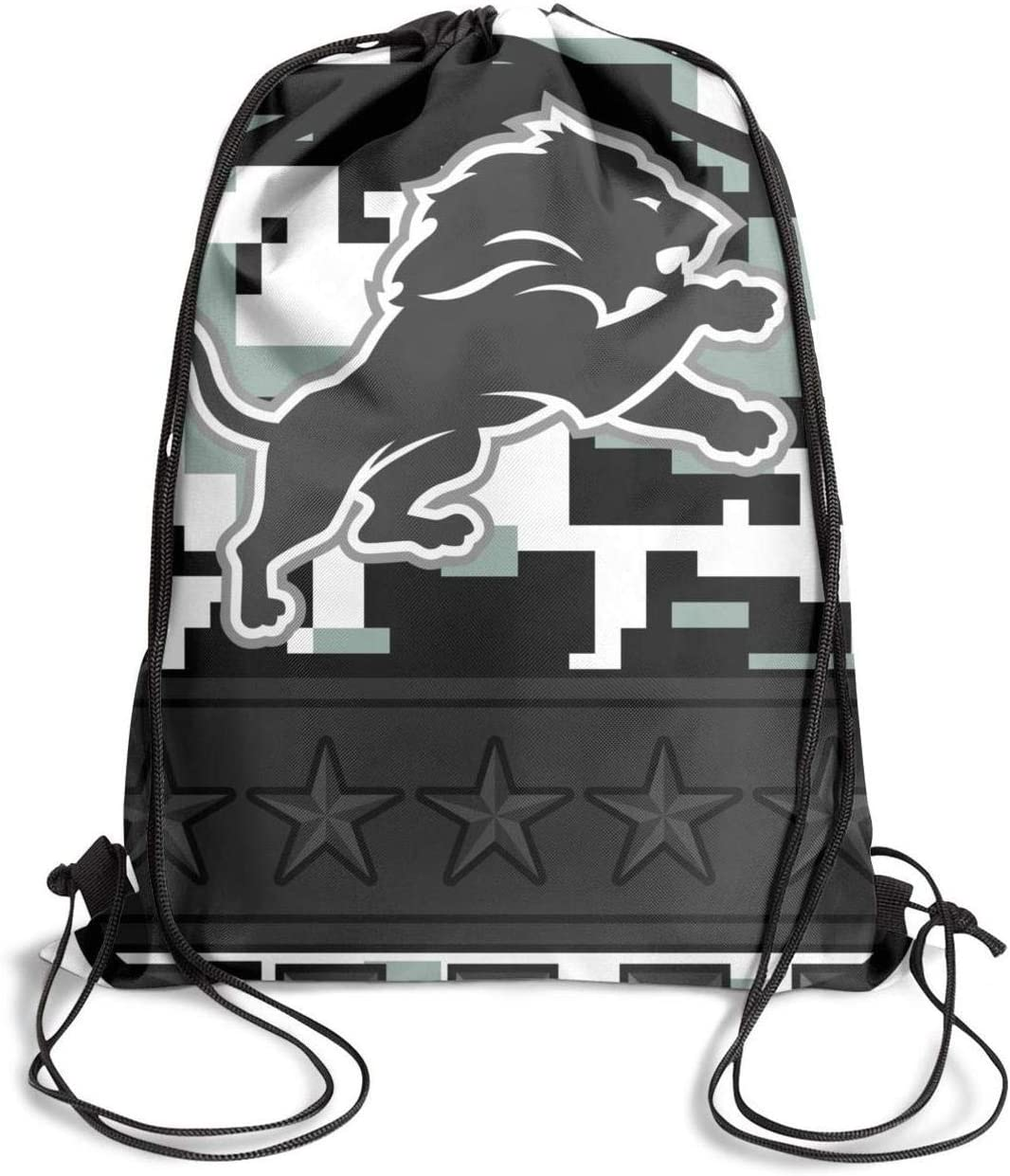 Amazon.com: KSEERBABALL Gym Drawstring Bag Large Size ...