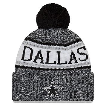 A NEW ERA Era NFL Sideline 2018 Bobble - Gorro de Lana Dallas Cowboys 644ca26dd66
