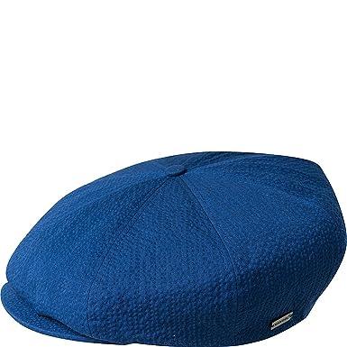 Kangol Gorra Newsboy Italian Ripley Seersucker Azul: Amazon.es: Ropa y accesorios
