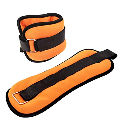Yetudo Durable Ankle/Wrist Weights (1 Pair) for Women Men and Kids, Home Workout Ankle Strengthening & Toning Workouts for Fitness, Exercise, Walking, ...