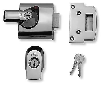 Yale Locks BS1 Visi Pack - Cerradura de Seguridad BS (6 cm), Color Cromado [Importado de Reino Unido]: Amazon.es: Bricolaje y herramientas