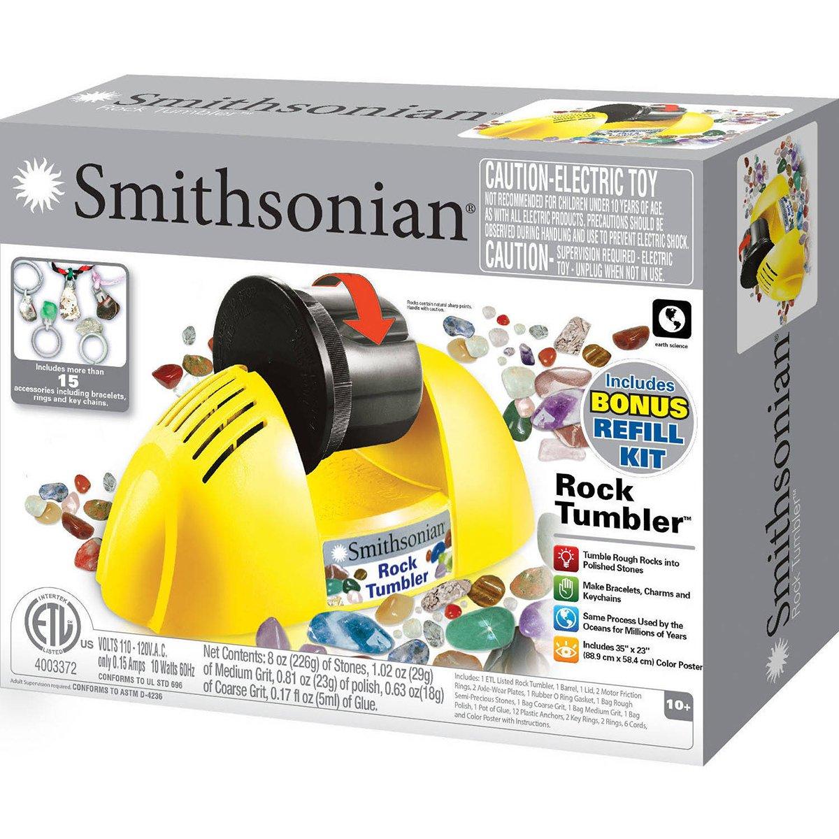 Amazon Nsismithsonian 49005 Rock Tumbler Toys Games