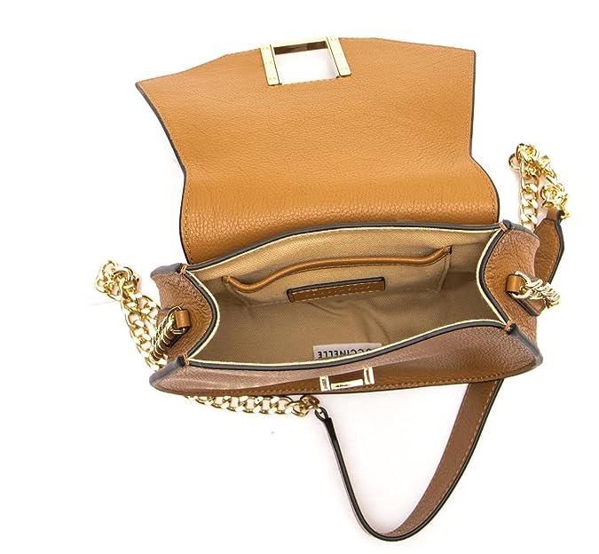 2e02b743a3860 Borsa Donna Shay b Pelle Vitello Cuoio XUB120180012  Amazon.it  Scarpe e  borse