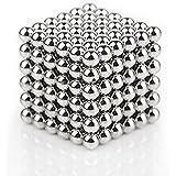 Una Serie Di (216 Confezioni) Di Acciaio Inossidabile Palla Di Metallo, DIY Scultura Libera Creazione E Combinazione Di Cubo Magico (5 MM)