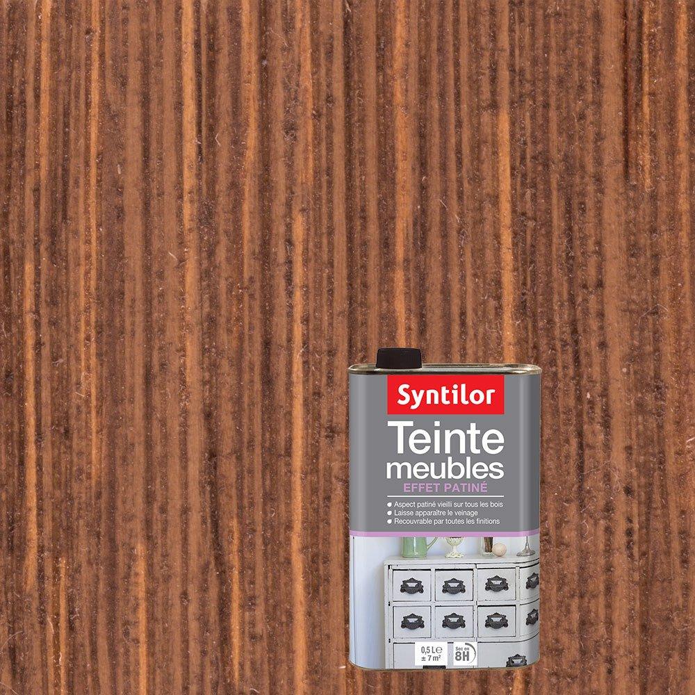 Syntilor - Teinte Meubles Effet Patiné Cendre 0, 5L 00190007