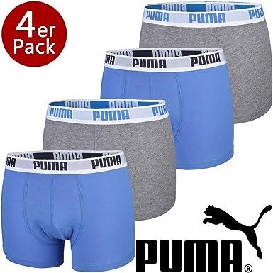 Puma 4er Pack Herren Basic Boxershorts: : Bekleidung
