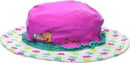 lachs Playshoes Beanie Veilchen mit UV-Schutz Cappellopello Bambina Multicolore Taglia Produttore: 53cm Medium