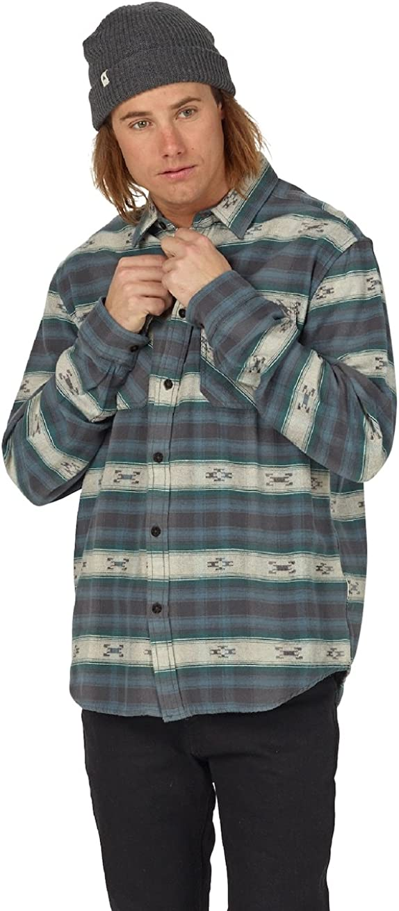 Burton Mens Brighton Burly Flannel Top