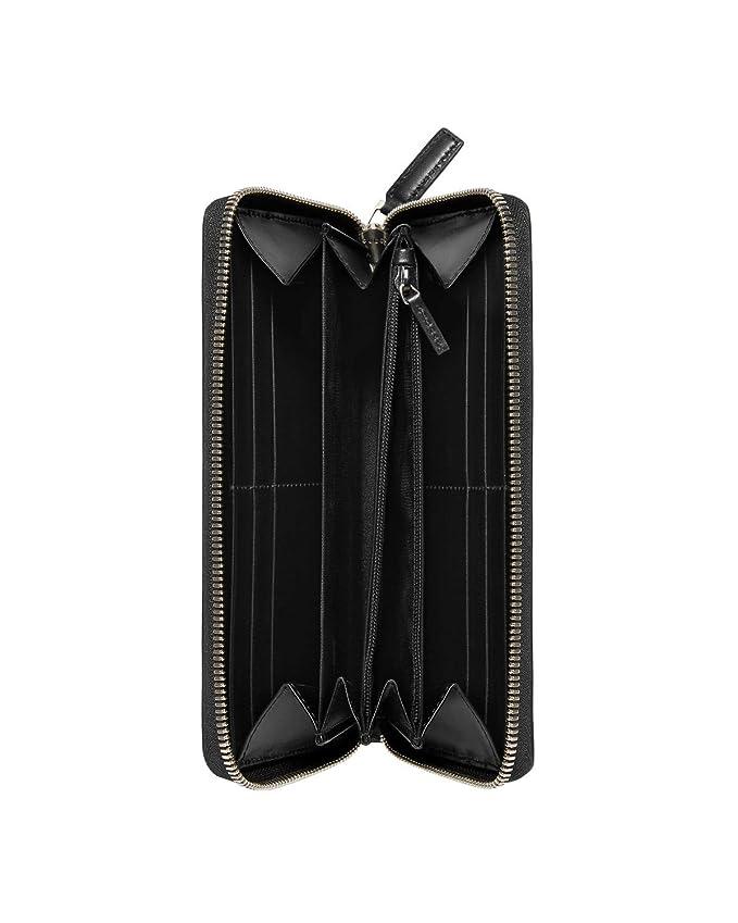 07a56270aa GUCCI - Portafoglio in pelle da Dona GUCCISSIMA MARGAUX - nero, Taglia  unica: Amazon.it: Abbigliamento