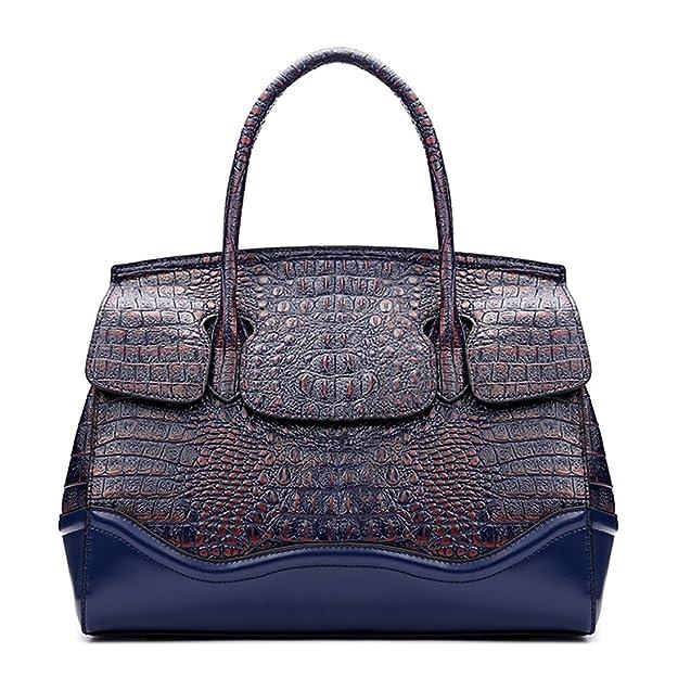 fcd8b6dab5 KAXIDY Sac Main Cuir Femme Sacs Bandoulière Sac Epaule Bandouliere (Bleu):  Amazon.fr: Chaussures et Sacs