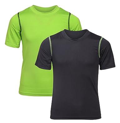 4d27864e Amazon.com: Black Bear Boys' Performance Dry-Fit T-Shirts (Pack of 2 ...