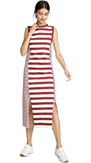 fbc53dfe33a0c Current/Elliott Women's The Perfect Muscle Tee Dress at Amazon ...