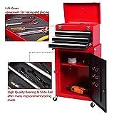 Giantex 2pc Mini Tool Chest & Cabinet Storage