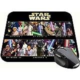 La Guerra De Las Galaxias Star Wars Saga F Tapis De Souris Mousepad PC
