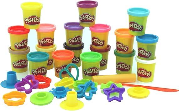 Play-Doh Play-Doh Super Rainbow Value Pack.: Amazon.es: Bricolaje ...
