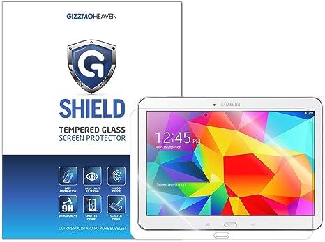 G-Shield Protector de Pantalla para Samsung Galaxy Tab 4 10.1 Pulgadas, Cristal Vidrio