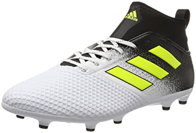 sale retailer a7d47 e7127 adidas Men s Ace 17.3 Fg Footbal Shoes, Multicolor (FTWR White Solar Yellow